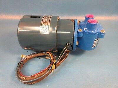 Cole-parmer Gh-07530-85 Air Cadet Vacuum Pressure Pump 0.6 Cfm 20 Hg115 Vac