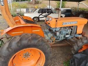 Kubota 4wd 25HP tractor and slasher