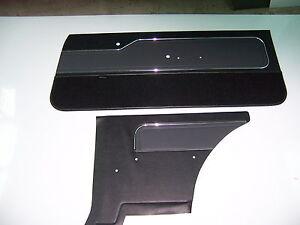 LX Hatchback Torana  f+r door trims/slate colour /golfball inserts