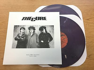The Cure  Early Bbc Sessions 1979 1985 New Color Vinyl 2 X Lp New