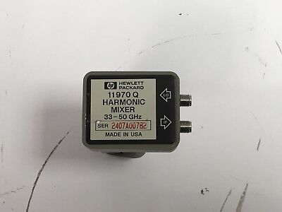 New Hp Agilent 11970q Waveguide Harmonic Mixer 33-50ghz Mint