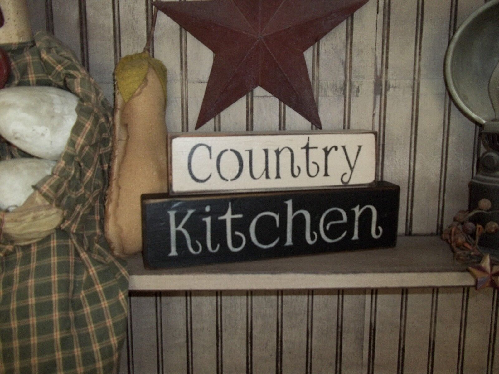 1 of 3FREE Shipping Wood Sign COUNTRY