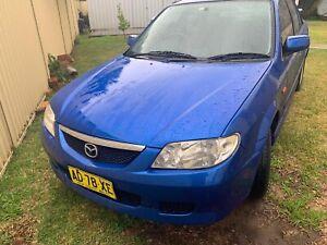 Mazda 323 protege 2003 5speed 05/10/19 reg 300000km