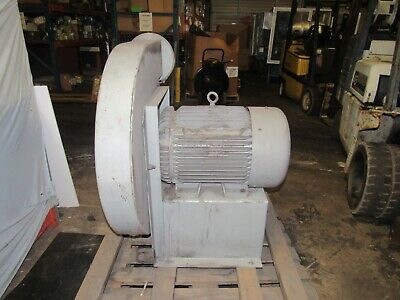 Baldor M4107t .25hp 3530 R.p.m. 230460v Motor W Industrial Blower