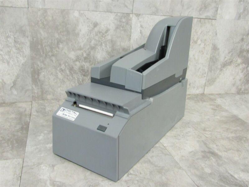 Digital Check Tellerscan TS240 50 DPM Check Scanner w/ TS240 Teller Printer