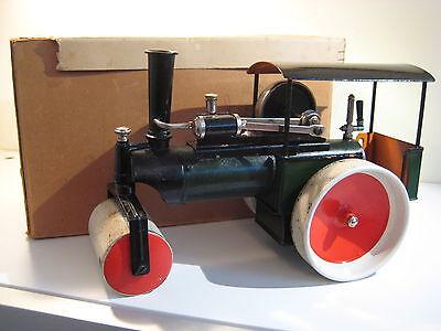 Märklin Dampfwalze 1084 live steam mit original Zubehör u. Unterkarton