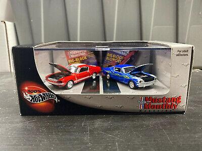 Hot Wheels 100% ***VTG '65 FORD MUSTANG & '67 SHELBY GT-500 *** 2 Car Set !!!