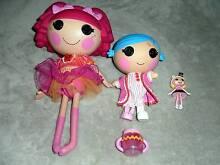 La La Loopsy Dolls - Small (~9cm) , Medium (~19cm), Large (~31cm) Carlisle Victoria Park Area Preview