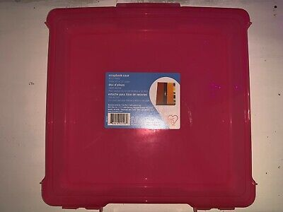 - (New) IRIS Portable Project Scrapbook Case for 12