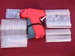 Fine Tagging Gun & 1000 Assorted Clear Fine Plastic Barbs