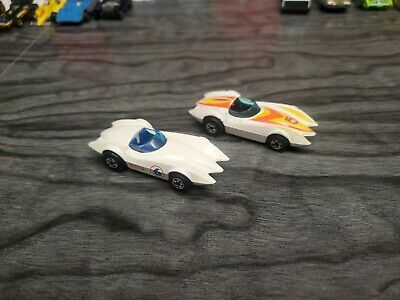 Hot Wheels Vintage Lot Blackwall Second Wind India HK. White #5 #6. Nice. 🔥😎