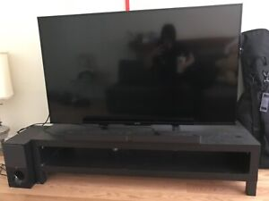 """SONY X690E HDR 4K 60"""" Smart TV with HTCT 290 2.1 sound bar"""