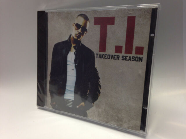 T.I. - Takeover Season CD BRAND NEW & SEALED!