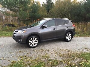 "2013 Toyota RAV4 LIMITED ""Beautiful interior"""
