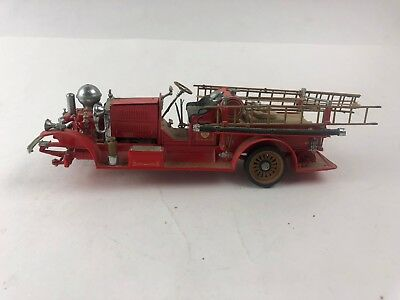 FIRE TRUCK AHRENS 1922 FOX R-K-4 PUMPER FIRE ENGINE FRANKLIN MINT 1:32