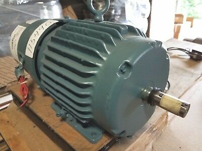 New Baldorreliance 2 Hp 3 Phase Brake Motor With Space Heaters