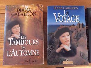 "Livre - roman Diana Gabaldon, ""Le Voyage"" grand fotmat $8"