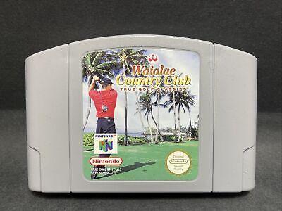 N64 Nintendo 64 Game - Waialae Country Club: True Golf Classics - PAL