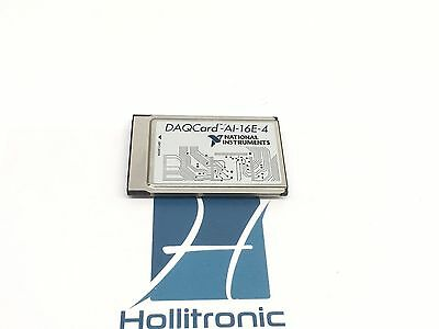 National Instruments Daqcard-ai-16e-4 Pcmcia Ni Daq Card Analog Input