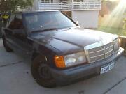 Mercedes 190e W201 Auto 1992 Low Kms Quinns Rocks Wanneroo Area Preview