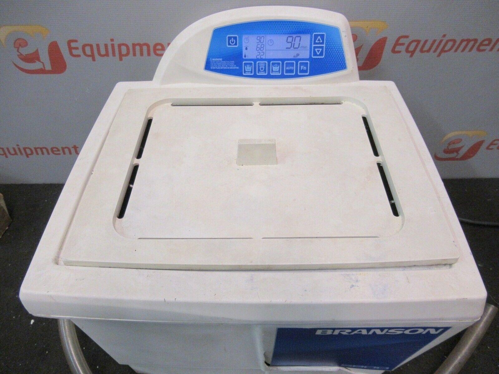 Branson CPX5800H Ultrasonic Cleaner Bath Heated Digital CPX-952-518R 2.5Gal 1