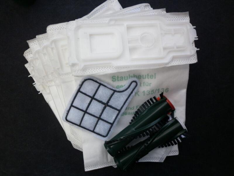 18 Filtertüten Beutel Papier geeignet Vorwerk Kobold 135 136 Filter 18 Dufti