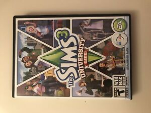 Sims three university life expansion pack (PC)
