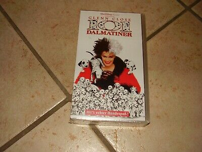 GLENN CLOSE 101 DALMATINER ! VHS - (1997)  NEU !