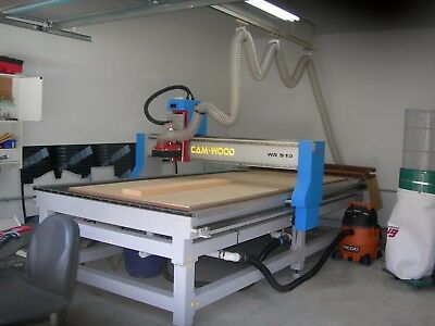 Camwood 5 X 10 Cnc Router Complete Shown -see Revised Description About Shipping