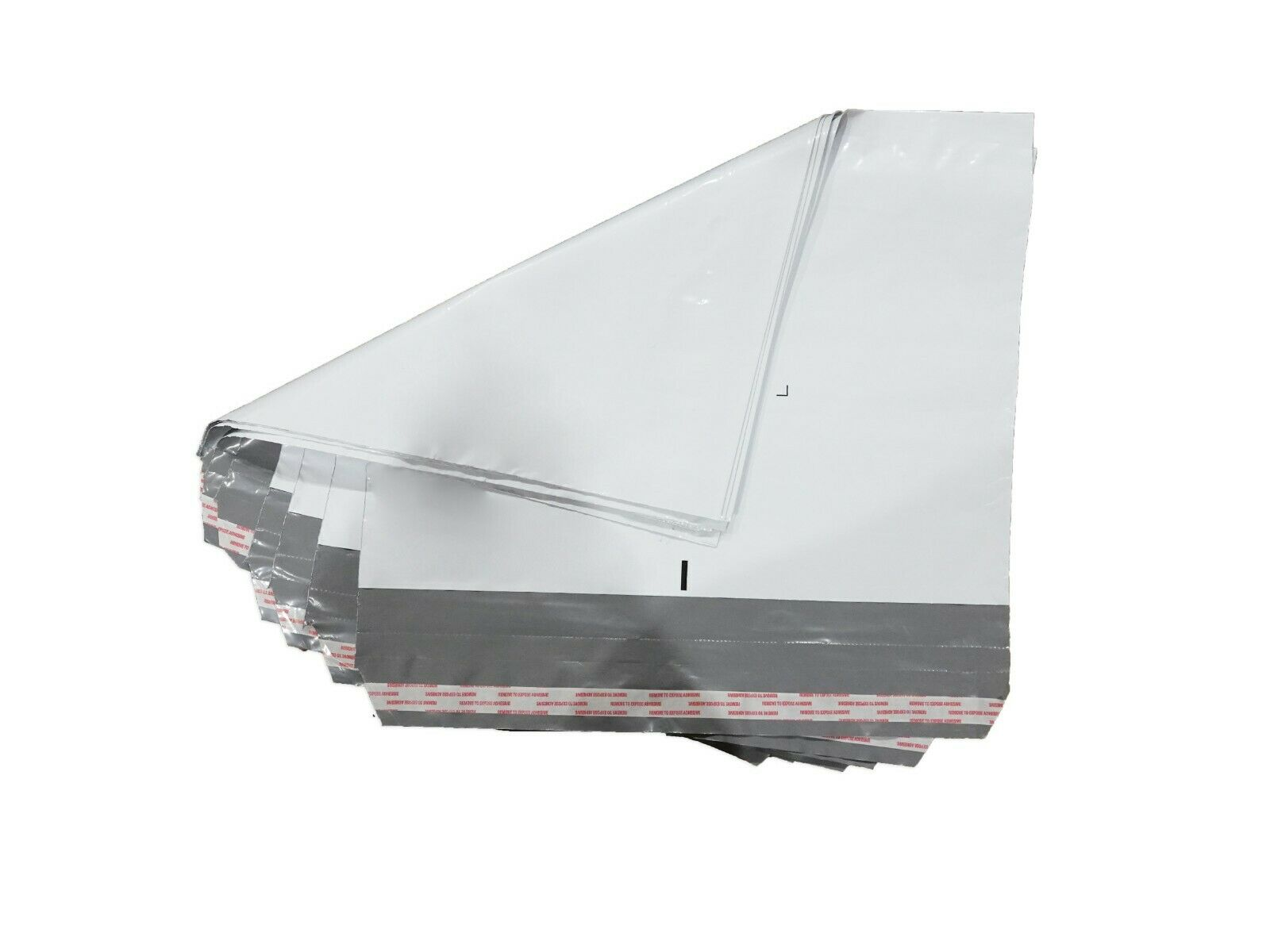 Poly Mailers 19x14x4″ Plastic Envelopes 100 Shipping Bags 4 Mil White Premium Business & Industrial