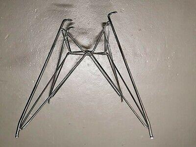 Original Base Gestell Untergestell verchromt Eames Eiffel Dar Plastic Arm Chair segunda mano  Embacar hacia Spain