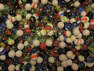 Wholesale Glass Marbles by the Pound! ONLY $2.39 per lb. 5/8 inch diam - BULK