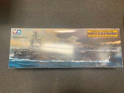 Tamiya USS Enterprise 1:350 scale aircraft carrier ship model kit 78007