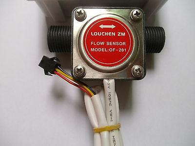 1/2'' Liquid Fuel Oil Flow Sensor Counter diesel gasoline Gear flow sensor