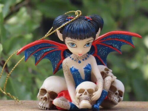 Strangeling Fairies ~ Hanging Spider & Skull - Jasmine Becket-Griffith