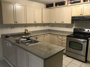 Kitchen cabinet,countertop,sink for sale (derry/mclaughlin)