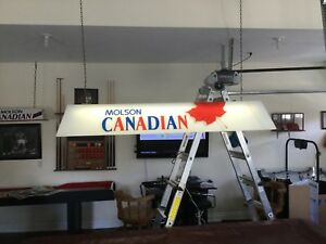 Molson Canadian Pool Table Light