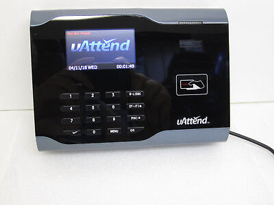 Uattend Cb6000 Time Clock Employee Management -new