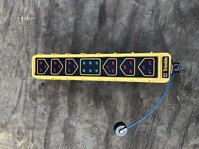Set Of 2 Trimble Site Vision 79011-10 Light Bar For Dozer Grade Control Gps