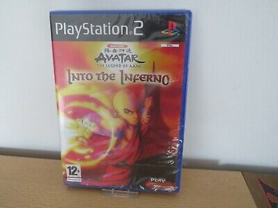 AVATAR THE LEGEND OF AANG INTO THE INFERNO SONY PLAYSTATION 2 PS2 PAL new sealed comprar usado  Enviando para Brazil