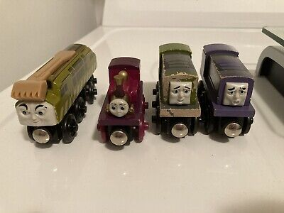 Lady, Diesel 10, Dodge & Splatter | Thomas the Train & Friends Wooden Railway