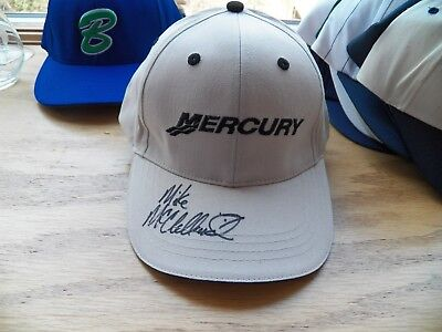 Mercury Hat Signed By Mike Mcclelland Bassmaster Elite