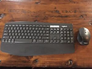 Logitech MK850 ergo/wireless/keyboard/mouse