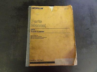 Caterpillar Cat 953 Track Loader Parts Manual  76y1
