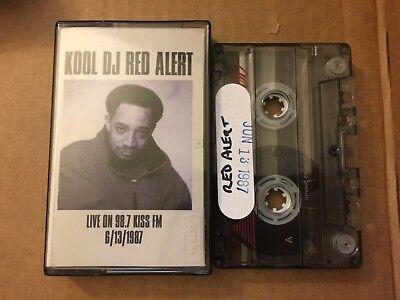 Kool DJ Red Alert 06-13-1987 Live on 98.7 Kiss FM NYC Cassette Mixtape Tape