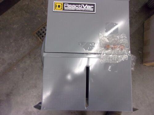 SQUARE D POWER FACTOR CORREC CAPACITOR PFCD2006F PFCD 240V 6K VAR T-1/12 FUSED