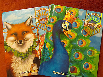 Florida Treasures 3 1   3 2 Grade 3 Reading Language Arts New 2009 Hardcover