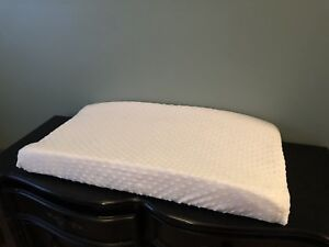 Baby change pad with cover