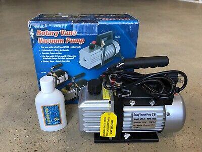 New Rotary Vane Vacuum Pump 3.0 Cfm