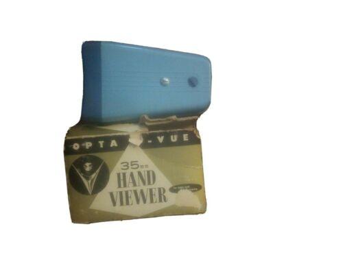 35mm hand viewer opta vue in box as shown vintage